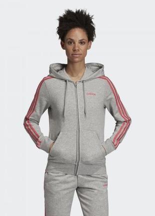Женская толстовка adidas essentials 3-stripes w ei0774