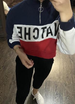 Кофта бобка толстовка пуловер