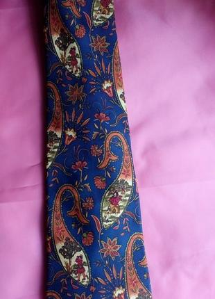 Salvatore ferragamo 100% шёлк галстук,оригинал.