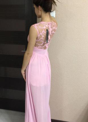 Платье длинное макси в пол