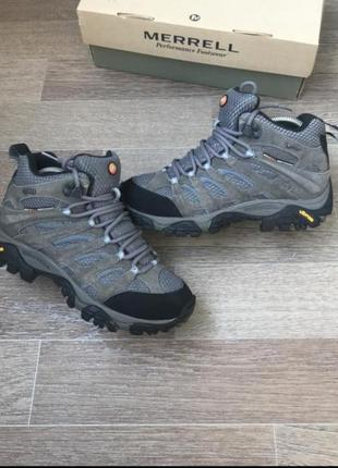 Трекинговые ботинки кроссовки merrell gore-tex