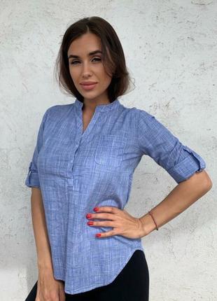 Рубашка. рубашка  женская.  ткань: 💯 коттон 🇹🇷  размеры s  m  l