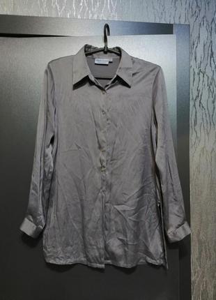 Новая рубашка натуральный шелк
