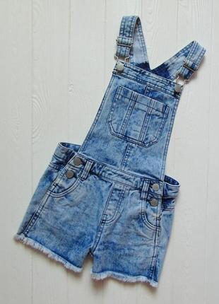 F&f. размер 5-6 лет. шикарный джинсовый комбинезон для девочки