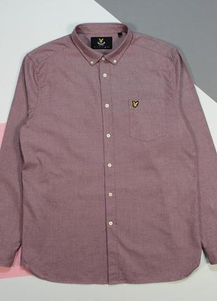 Сочная рубашка в текстурном раскрасе от lyle&scott