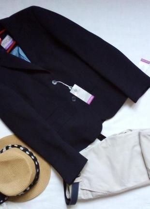 Новый базовый тёмно синий пиджак. skopes tailoring jackets