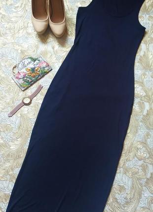 Классное летнее платье. на бирке- 8 р-р(42-44)