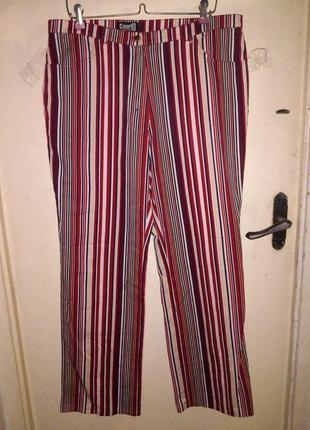 Стрейч-коттон,весна-лето,классные джинсы-брюки с карманами,большой размер,gerry weber