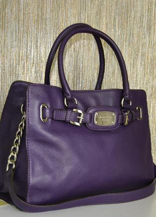 Кожаная сумка michael kors оригинал / шкіряна сумка