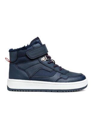 Кеди високі h&m кеды кроссовки хайтопы ботинки
