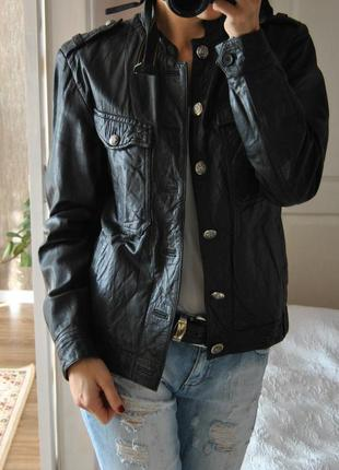 Кожаная куртка allsaints /шкіряна куртка