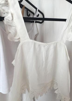 Топ с кружевом , блуза с кружевом , костюм шорты топ calliope