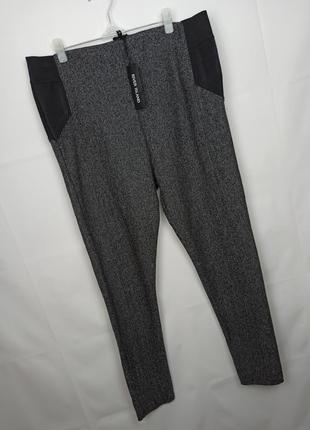 Брюки штаны новые стильные высокие большого размера river island uk 18/46/xxl