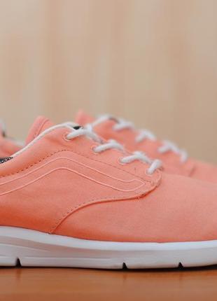 Кеды кораллового цвета, кроссовки vans ultracush lite iso 1.5, ванс, 36.5 размер. оригинал