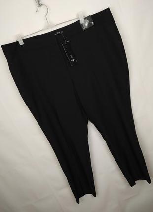 Штаны брюки новые красивые большого размера f&f uk 22/50/4xl