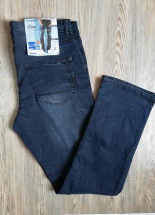 Качественные мужские джинсы прямого кроя livergy 52 (36/34)