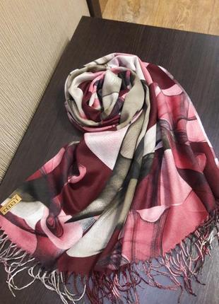 🎈красивейшие турецкие кашемировые палантины шарфы расцветки