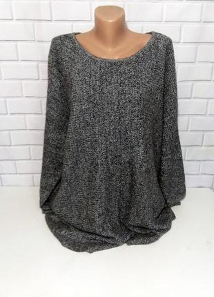 Вязаный свитер батал jones new york /арт.05