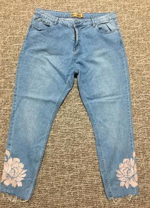 Продам крутезні джинси мом великого розміру!