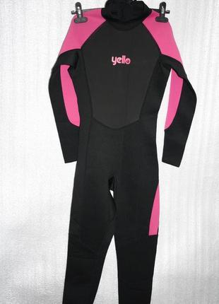 Гидрокостюм женский для серфинга yello, xs
