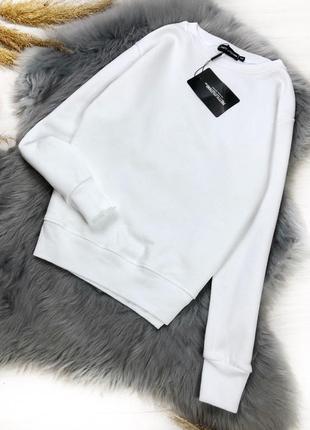 Базовый белый свитшот