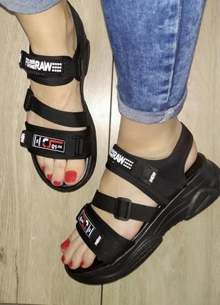 Спортивные босоножки 🌿 платформа сандали босоніжки