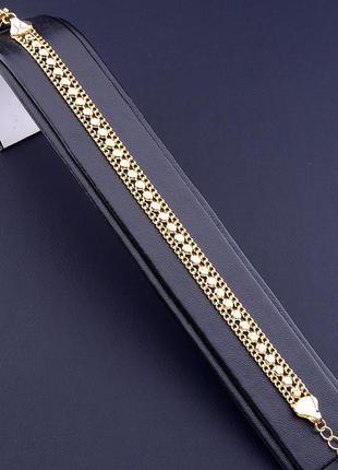 Браслет 'xuping' 18 см. (позолота 18к) 0902700