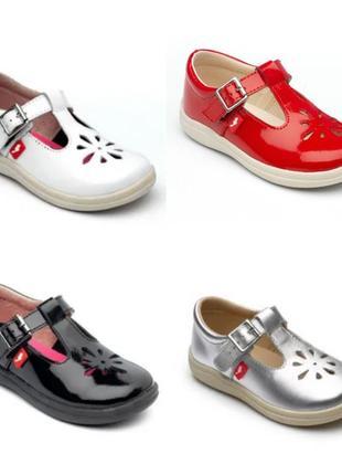 Кожаные лаковые туфли, босоножки сhipmunk англия