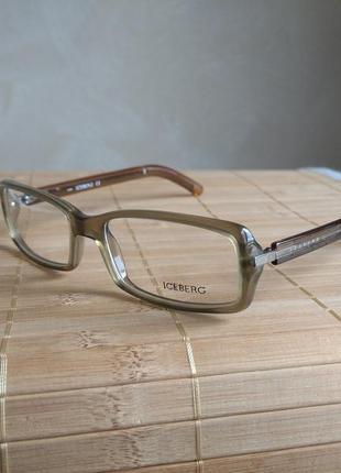 Фирменная оправа под линзы,очки оригинал iceberg ic09002