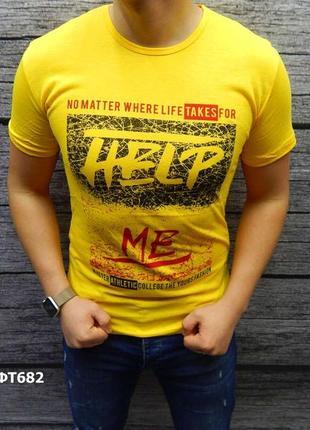 Акция скидка футболка мужская 100% хлопок есть размеры