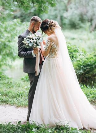 Продам весільну сукню чаплею нео платье anastasia sposa