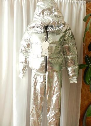 Зеркалка  куртка холофайбер