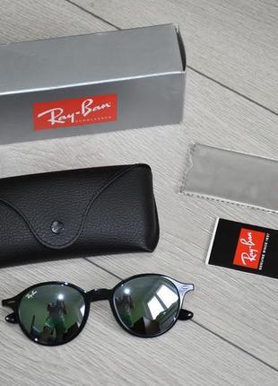 Оригинальные очки ray ban liteforce round rb 4237 601/30 made in italy новые оригинал
