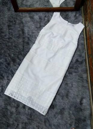Платье футляр чехол с ажурными вставками bodyflirt