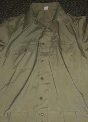 Рубашка военная женская цена 55