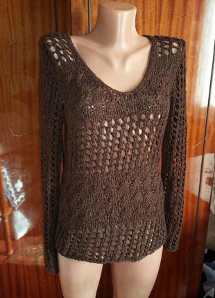 Оригинальный летний свитерок/свитер
