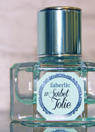 Парфюмерная вода sorbet jolie от faberlic