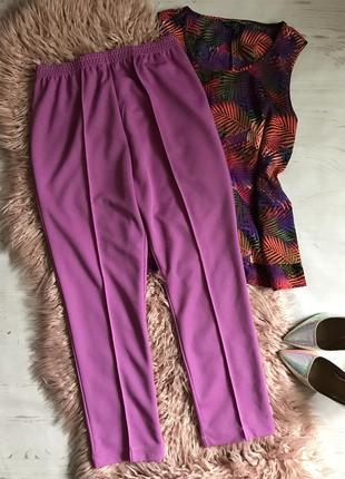 Классические брюки красивого цвета(l/xl)