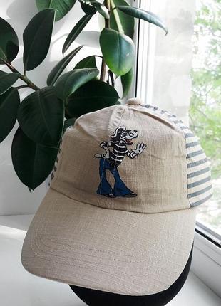 Новая хлопковая кепка на лето для подростка, 52-54 р.