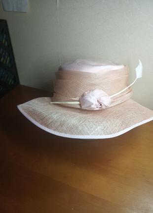 Шикарная шляпа англия соломка