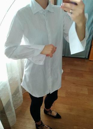 Рубашка, длинная рубашка, рубашка удлиненная