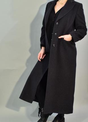 4300\160 демисезонное пальто серого цвета  noname