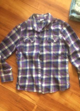 Стильные рубашки р.140-146 см