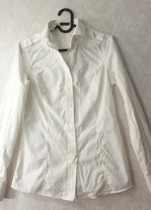 Белая рубашка massimo dutti  трансформер