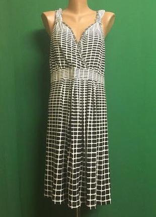 Вискозное платье yessica