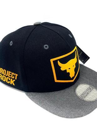Кепка бейсболка снепбек under armour projet rock
