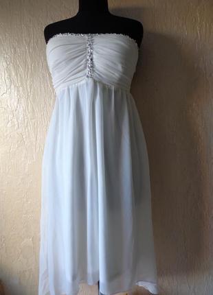 Плаття (платье) випускное, вечернее,свадебное, розмір 38 (46)