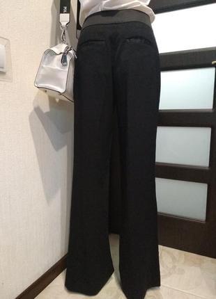 Классические черные брюки штаны в пол