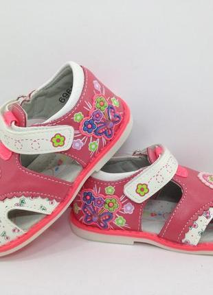 Босоножки для девочки, сандалии 21-26 размер