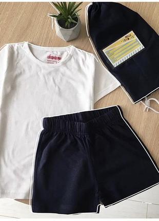 Набор футболка , шорты, рюкхак